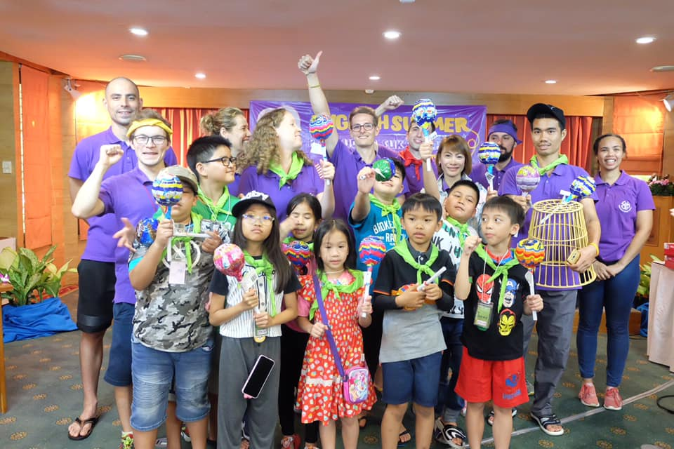 English Summer Camp @Sunset park resort Pattaya