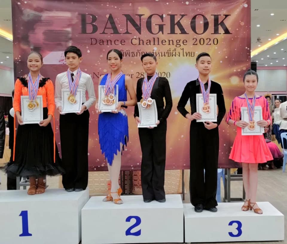 แข่งลีลาศ Latin American งาน Bangkok International Dance Challenge